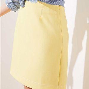 NWT LOFT shift skirt size 6